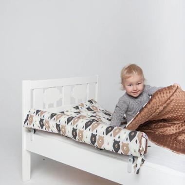 Ochraniacz IKEA - brązowe misie