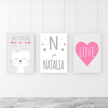 Tryptyk dla Natalii