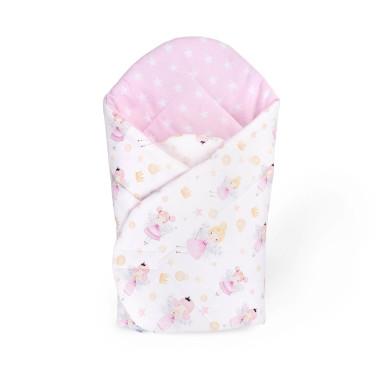 Różowy rożek niemowlęcy Wróżka Duszka
