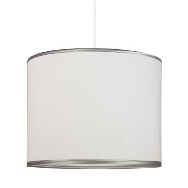 Lampa sufitowa MINI srebrzysta biel