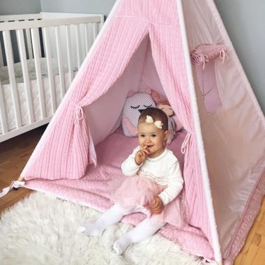 Malmo Pink - tipi, namiot dla dzieci