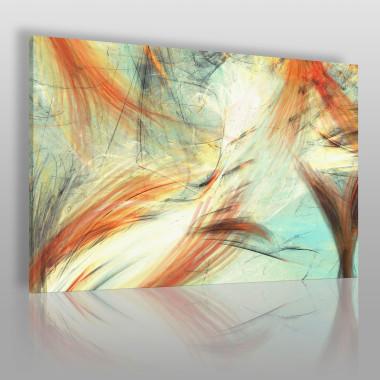 Rybi ogon - nowoczesny obraz na płótnie