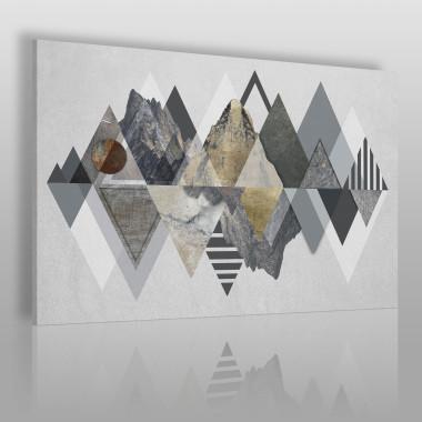 Majestatyczność gór - nowoczesny obraz na płótnie