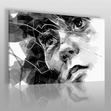 Osobista refleksja - nowoczesny obraz na płótnie