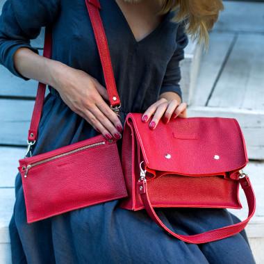 BOXY BAG L RED