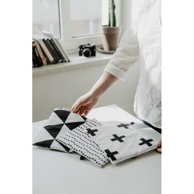 Zestaw 3 łapek/podstawek kuchennych geometric