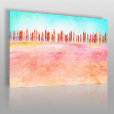 Abstrakcyjny obraz na płótnie