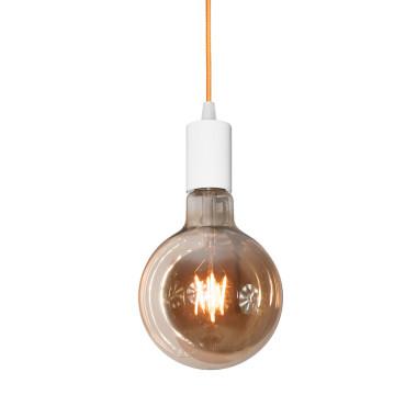 youngDECO lampa LOFT kula pomarańczowa