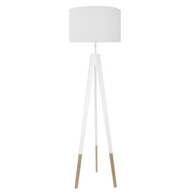 youngDECO lampa podłogowa trójnóg biały w skarpetkach Czysta biel