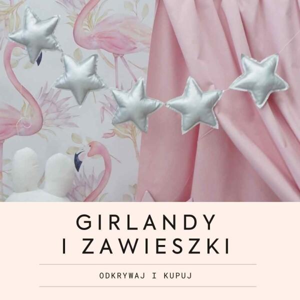 Girlandy i zawieszki, dekoracje do pokoju dziecięcego dla chłopca i  dziewczynki