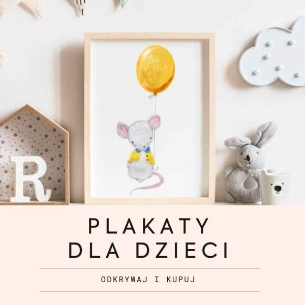 Plakaty dla dzieci, personalizowane plakaty dla dzieci, pamiątka urodzin, chrztu, komunii świętej, prezent dla niemowlaka, pezent na chrzest, prezent na komunię