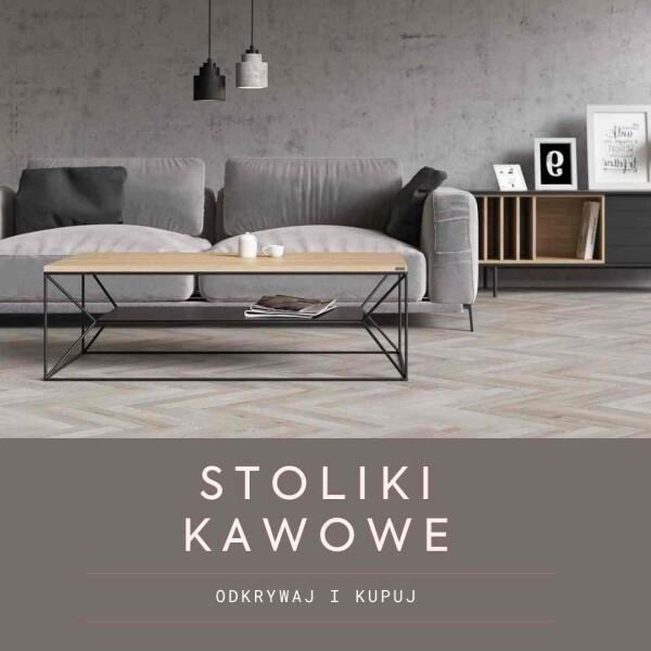 Nowoczesne minimalistyczne stoliki kawowe, ławy w stylu skandynawskim i loft do salonu do pokoju dziennego