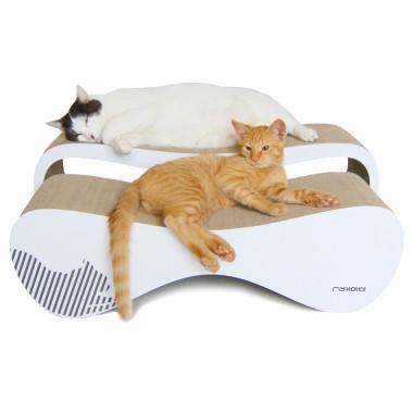Wielofunkcyjny nowoczesny mebel dla kota. Drapak, leżanka, zabawka...