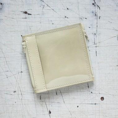 Mały pistacjowy portfel