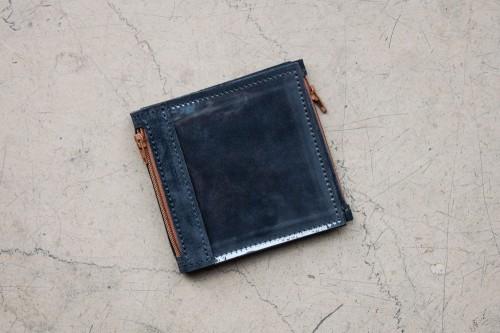Mały granatowy portfel