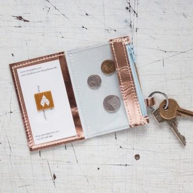 Minimalistyczny portfel/wizytownik/ etui na klucze
