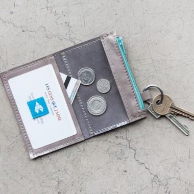 Minimalistyczny portfel/wizytownik/etui na klucze