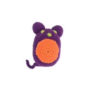 Cudna zabawka szydełkowa w oryginalnym kolorze.