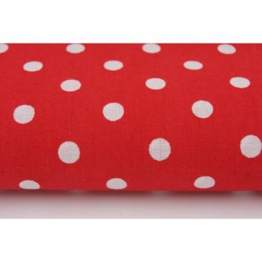 Zasłona Grochy na czerwonym 7 mm