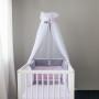 Emi - baldachim do łóżeczka niemowlęcego