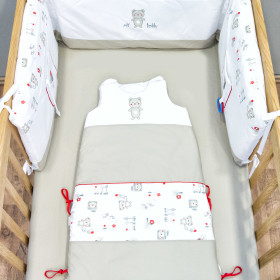 My Teddy - pościel i akcesoria do łóżeczka