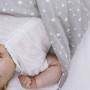Słoniki - rożek niemowlęcy z wyjmowanym wkładem kokosowym
