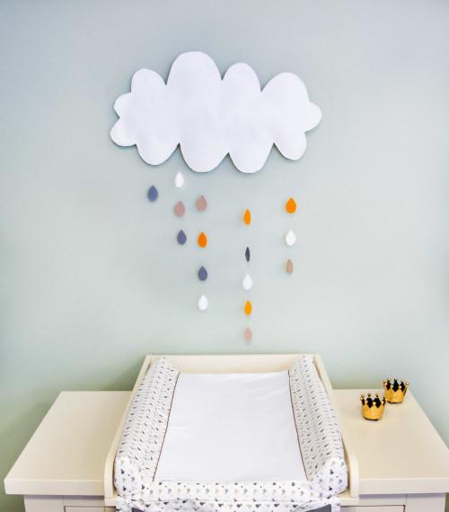 Chmura - dekoracja ścienna