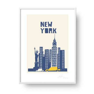 "Plakat ""New York 3"""
