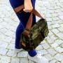 Torba damska, miejska Nuff wear - kamuflaż