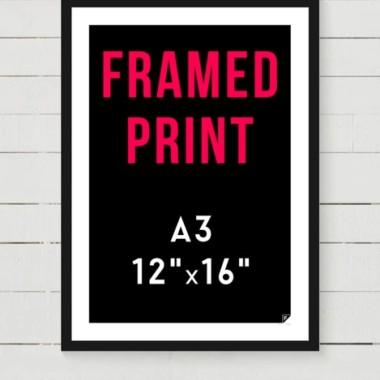 Opraw swój plakat A3 - 30x40 cm (dotyczy pakatów Follygraph)
