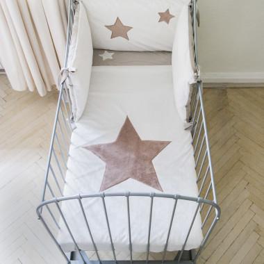 Gwiazda - poszewka 100x135, 40x60