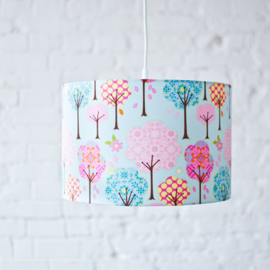Lampa wisząca Bajkowy Las Niebieskie tło Lamps&Co
