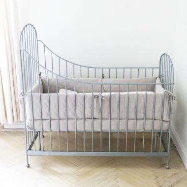 Gwiazda - ochraniacz pikowany na całe łóżeczko 120x60 cm