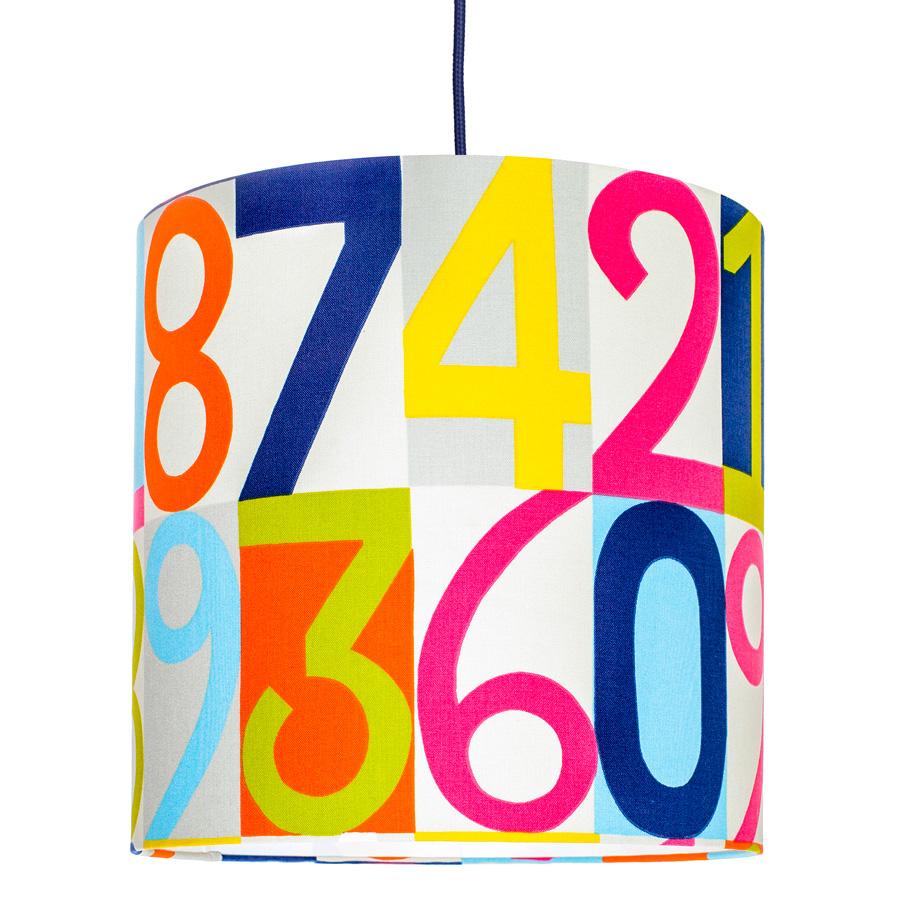 Lampa sufitowa cyfry