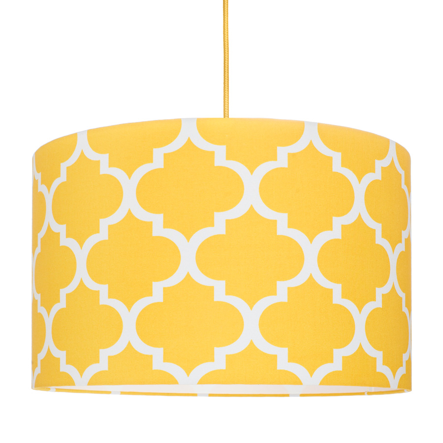 Abażur Koniczyna marokańska żółta