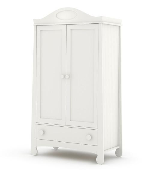 Parole - szafa 2-drzwiowa dla dziecka-biała.