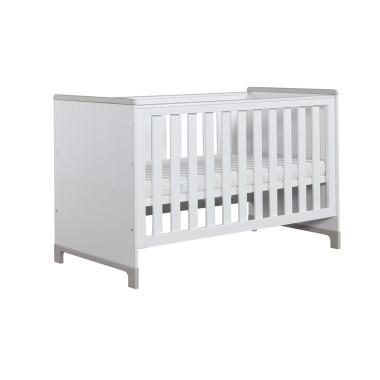 Mini - białe łóżeczko dla dziecka 140x70