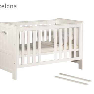 Blanco (Barcelona) - łóżeczko 140x70 cm