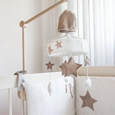 Gwiazda - karuzela do łóżeczka z obrotową pozytywką