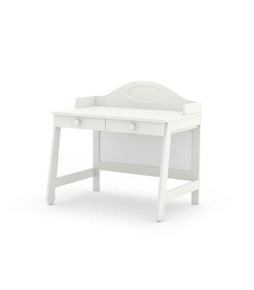Parole - białe drewniane biurko