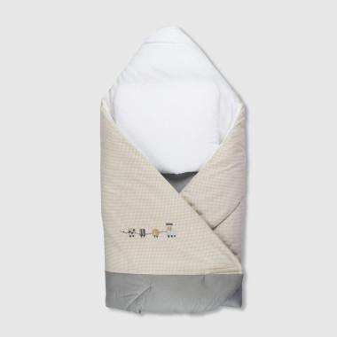 Ciuchcia - rożek z wyjmowanym wkładem kokosowym