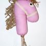 Koń na kiju Ajku-zabawka dla małego Indianina:)