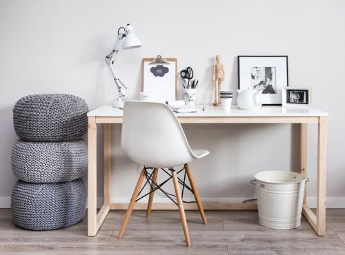 """Biurko """"DES3 WOMEB"""" -nowoczesne biurko drewniane"""