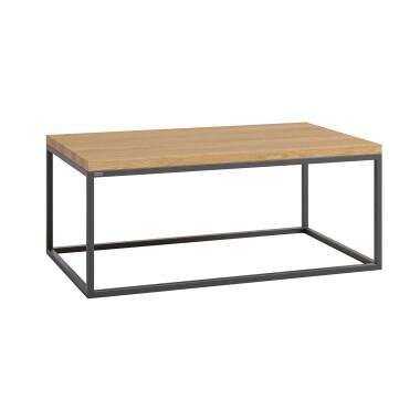 Połączenie stali i drewna pasuje zarówno do wnętrz loftowych, jak i skandynawskich.