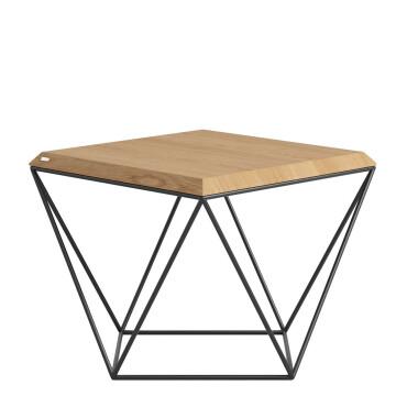 TULIP to seria minimalistycznych stolików kawowych o ciekawej geometrycznej formie.