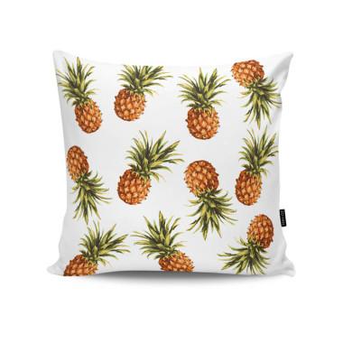Poduszka dekoracyjna/ jasiek z obustronnym nadrukiem. Zo-Han.Ananasy.
