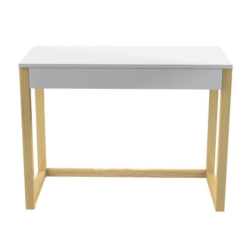 Biurko w stylu skandynawkim, polecamy dla ucznia a także do domowego biura