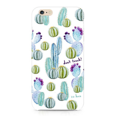 Hard-Case- etui do telefonu Cactus (Don`t touch!)