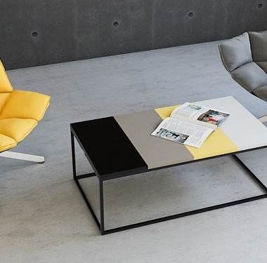 stolik-kawowy-piano- czarnoszaro-żółty