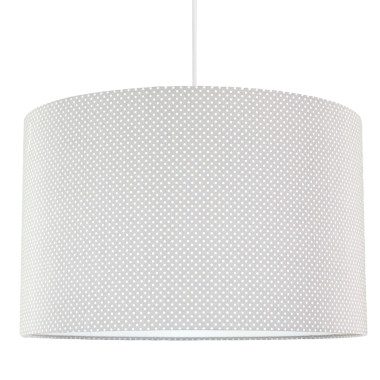 youngDECO lampa sufitowa kropeczki na szarym 3